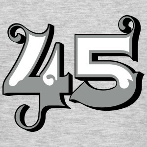Fun Numbers 45 - 3C colorchange T-Shirts - Männer T-Shirt