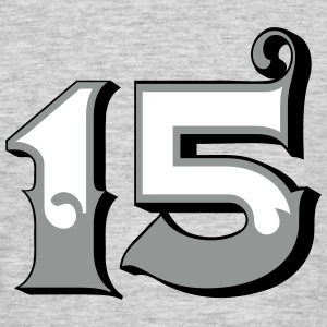 Fun Numbers 15 - 3C colorchange T-Shirts - Männer T-Shirt