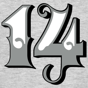 Fun Numbers 14 - 3C colorchange T-Shirts - Männer T-Shirt