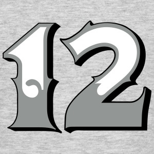 Fun Numbers 12 - 3C colorchange T-Shirts - Männer T-Shirt