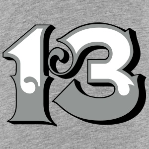 Fun Numbers 13 - 3C colorchange T-Shirts - Teenager Premium T-Shirt