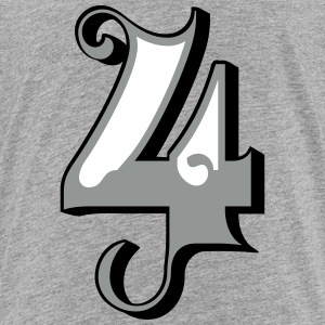 Fun Numbers 4 - 3C colorchange T-Shirts - Kinder Premium T-Shirt