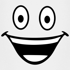 happy smiley T-shirts - Børne premium T-shirt