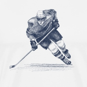 Hockey T-shirts - Herre premium T-shirt