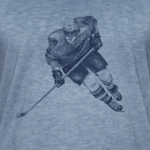 Hockey Tee shirts - T-shirt vintage Homme