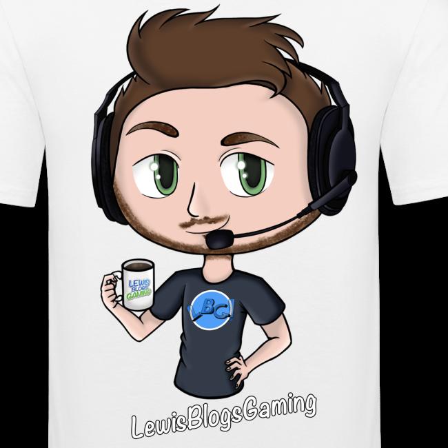 Men's Premium T-Shirt: Avatar LewisBlogsGaming