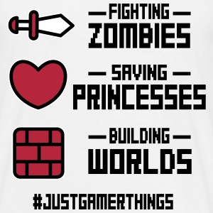 just gamer things T-Shirts - Männer T-Shirt