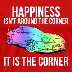 Happiness is the corner T-Shirts - Men's Premium T-Shirt