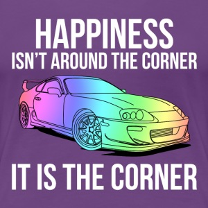 Happiness is the corner T-shirts - Premium-T-shirt dam