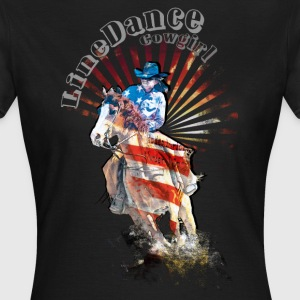 kl_linedance41 T-Shirts - Frauen T-Shirt