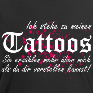 Meine TATTOOS T-Shirts - Frauen Kontrast-T-Shirt