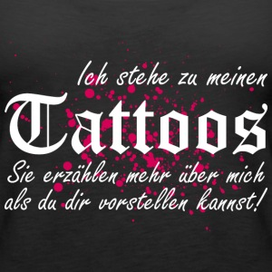 Meine TATTOOS Tops - Frauen Premium Tank Top