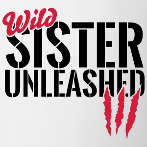 Wild sister unleashed Mugs & Drinkware - Mug