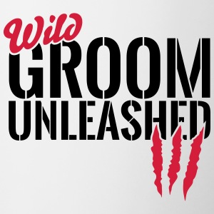 Wild groom unleashed Mugs & Drinkware - Contrasting Mug