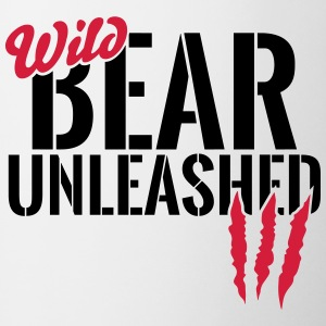 Wild bear unleashed Mugs & Drinkware - Mug