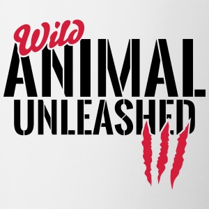 Wild animal unleashed Mugs & Drinkware - Mug