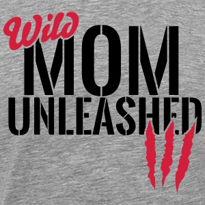 Wilde Mutter unleashed Tee shirts - T-shirt Premium Homme