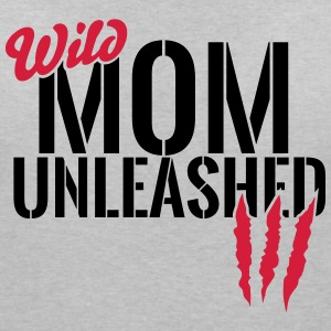 Wilde Mutter unleashed T-shirts - T-shirt med v-ringning dam