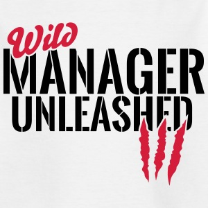 Vilde Manager unleashed T-shirts - Teenager-T-shirt