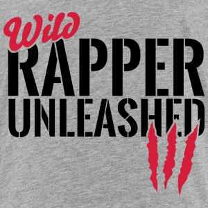 Wild rapper unleashes Shirts - Kids' Premium T-Shirt