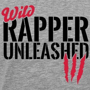 Wild rapper unleashes T-Shirts - Men's Premium T-Shirt