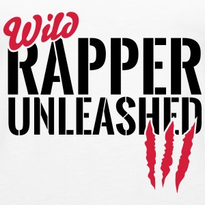 Wilder Rapper entfesselt Tops - Frauen Premium Tank Top