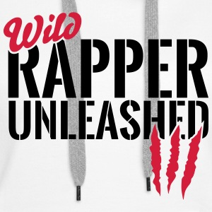 Wild rapper unleashes Hoodies & Sweatshirts - Women's Premium Hoodie