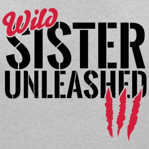 Wild sister unleashed T-Shirts - Women's V-Neck T-Shirt