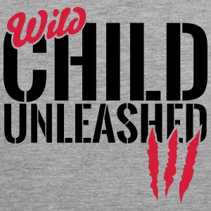Wild child unleashed Sports wear - Men's Premium Tank Top