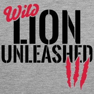 Wild lion unleashed Sports wear - Men's Premium Tank Top