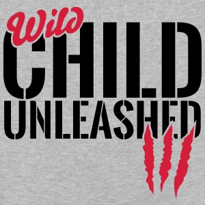 Wild child unleashed Long Sleeve Shirts - Kids' Premium Longsleeve Shirt