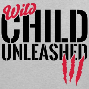 Wild child unleashed T-Shirts - Women's V-Neck T-Shirt