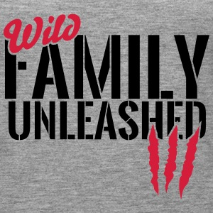 Wild family unleashed Tops - Women's Premium Tank Top