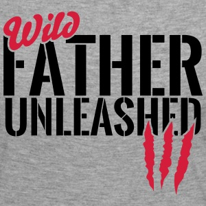 Unleashed wild father Long Sleeve Shirts - Women's Premium Longsleeve Shirt