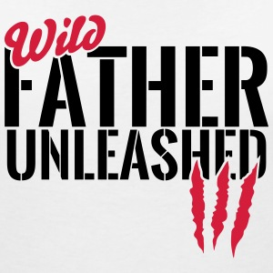 Unleashed wild father T-Shirts - Women's V-Neck T-Shirt