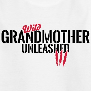 Wild Grandma unleashed Shirts - Kids' T-Shirt