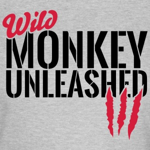 Wild monkey unleashed T-Shirts - Women's T-Shirt