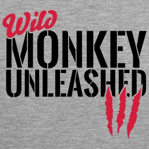 Wild monkey unleashed Sports wear - Men's Premium Tank Top