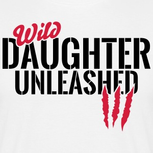 Wild daughter unleashed T-Shirts - Men's T-Shirt