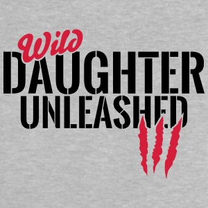 Wild daughter unleashed Baby Shirts  - Baby T-Shirt