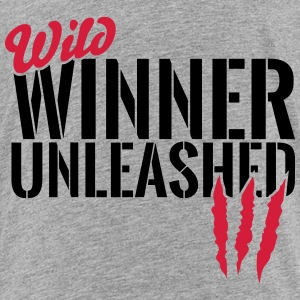 Wild winner unleashed Shirts - Kids' Premium T-Shirt