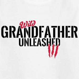 Wild bedstefar unleashed T-shirts - Teenager-T-shirt