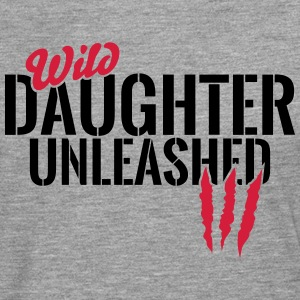 Wild daughter unleashed Long sleeve shirts - Men's Premium Longsleeve Shirt