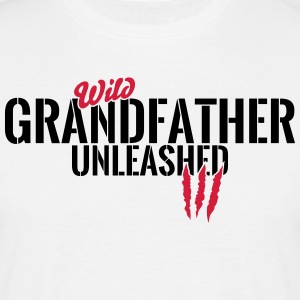 Wild bedstefar unleashed T-shirts - Herre-T-shirt