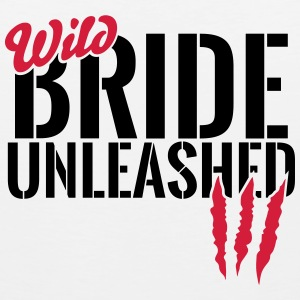 Wild bride unleashed Sports wear - Men's Premium Tank Top