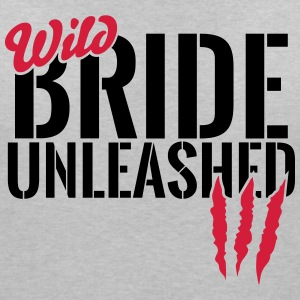 Wild bride unleashed T-Shirts - Women's V-Neck T-Shirt