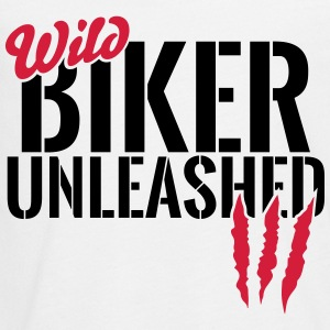 Wild biker unleashed Long Sleeve Shirts - Teenagers' Premium Longsleeve Shirt