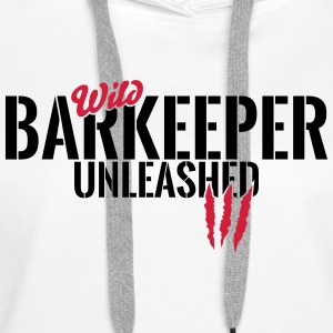 Wild bartender unleashed Hoodies & Sweatshirts - Women's Premium Hoodie