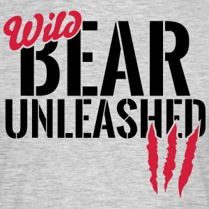 Wild bear unleashed T-Shirts - Men's T-Shirt