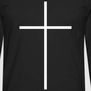 Kreuz Symbol x Christentum Kirchen Long sleeve shirts - Men's Premium Longsleeve Shirt